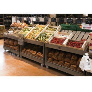 Maraîcher, meuble fruits et légumes